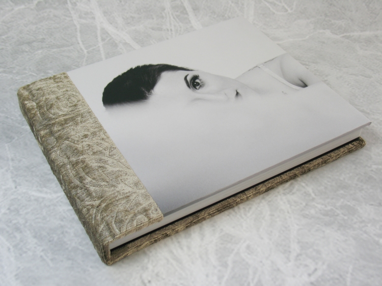 """Photo Panel on Finao's playBOOK, paired with """"Flourish"""" from the Opulence collection."""