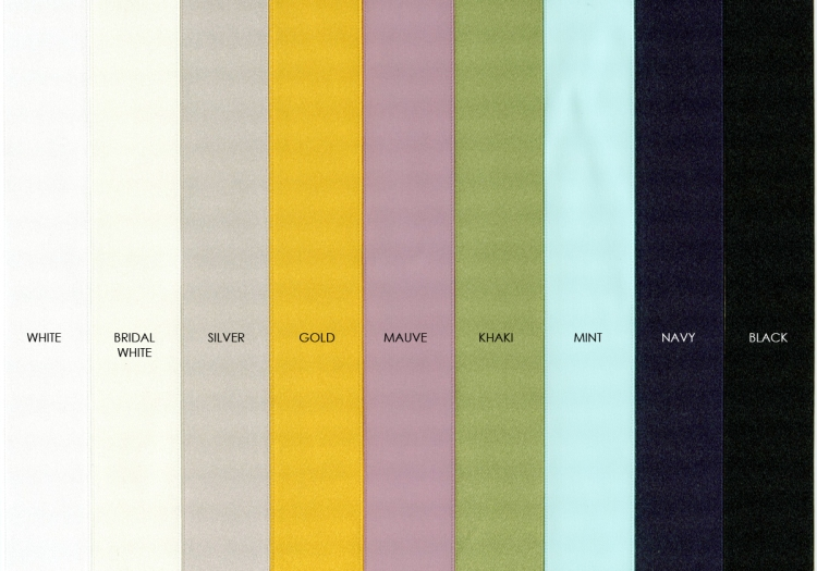 9 Ribbon colors now available for Seldex Portfolio Boxes, Preview Boxes, and Portrait Envelopes. Order at www.finao.com