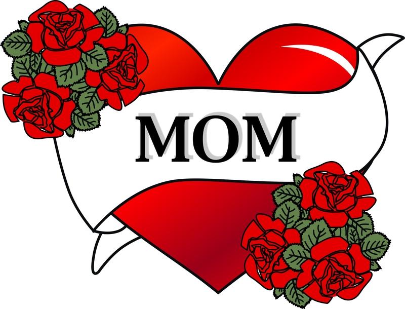 Mom Heart Tattoo
