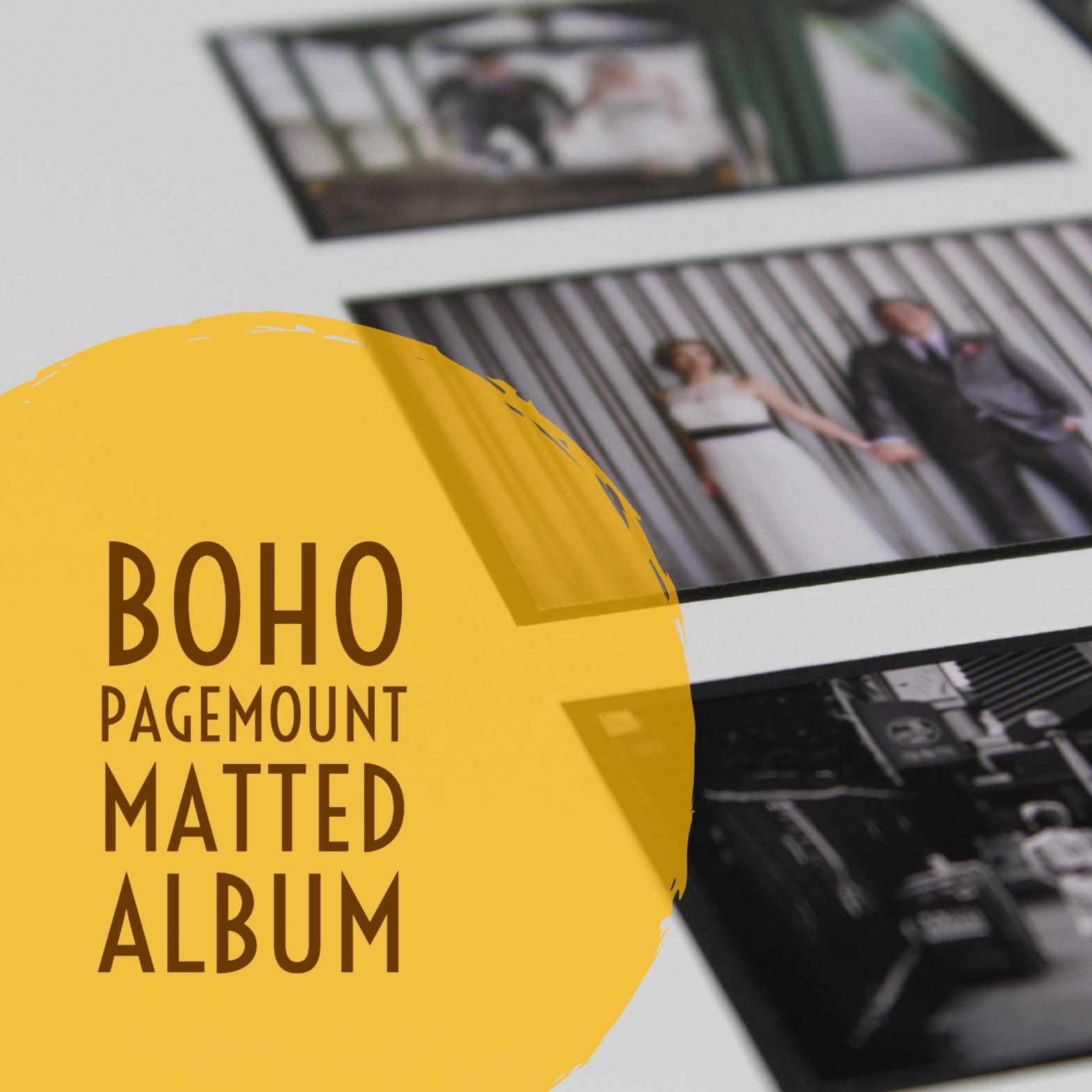Boho wedding album by Finao